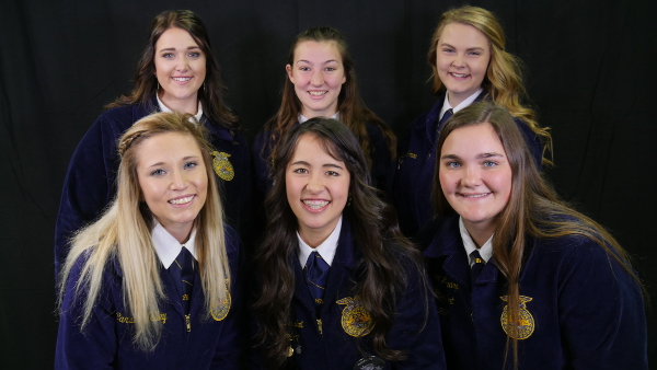 2017-2018 Nevada State FFA Officers
