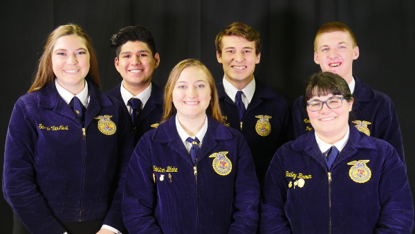2018-2019 Nevada State FFA Officers