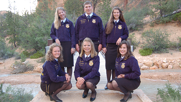 2016-2017 Nevada State FFA Officers
