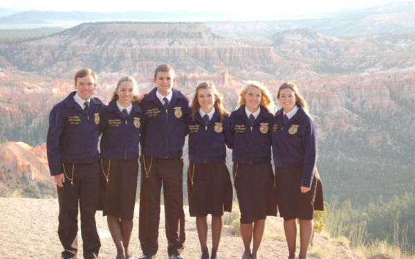 2014-2015 Nevada State FFA Officers